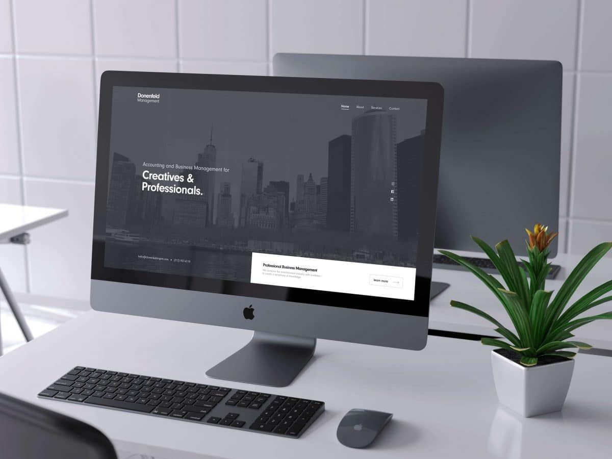 Donenfeld Management - Web Design, Logo Design, Branding